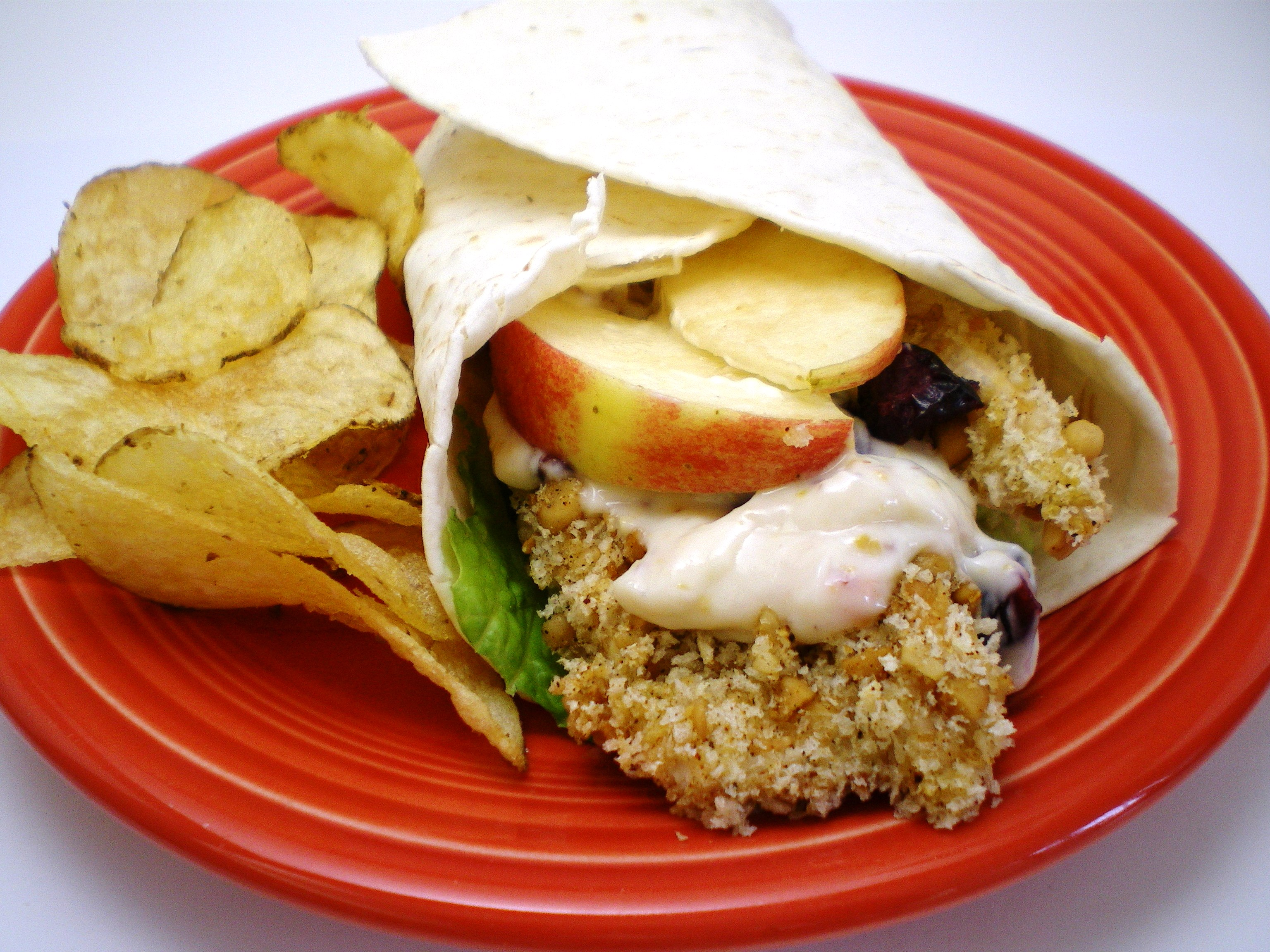 Dried Cranberry and Apple Chicken Wraps « Great Lakes ...